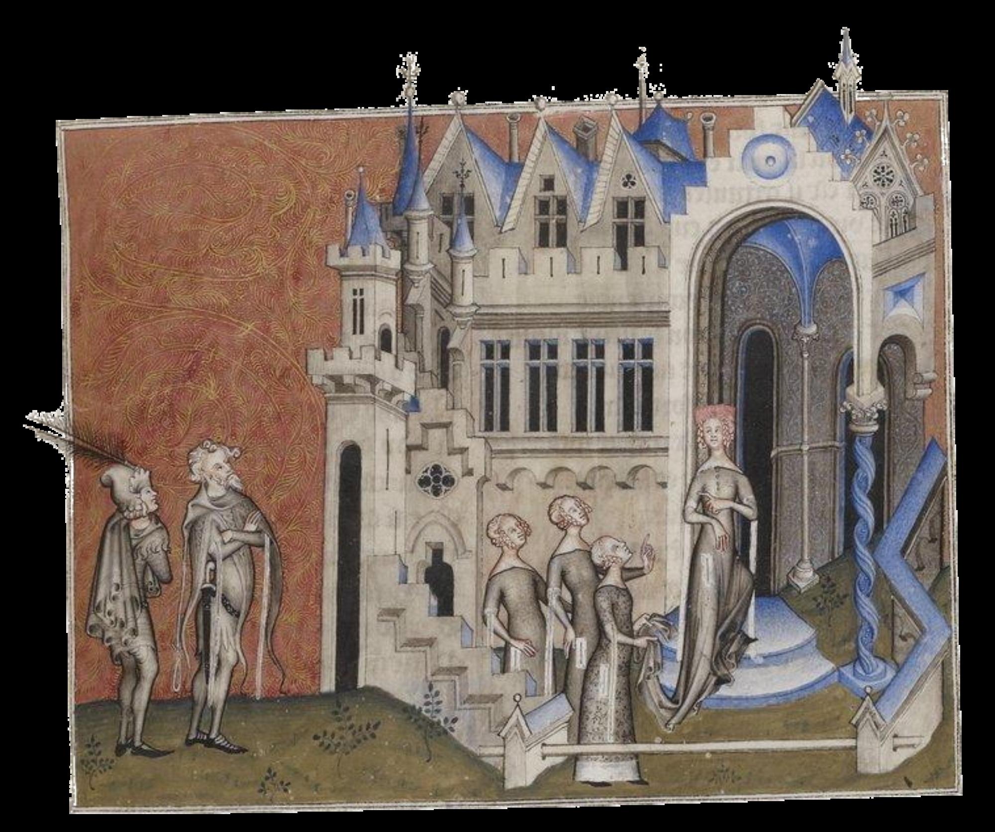 Femme et dame de courtoisie dans les manuscrits enluminés en France aux XIV ème et XV ème siècles